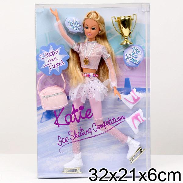 Кукла фигуристка на коньках 54