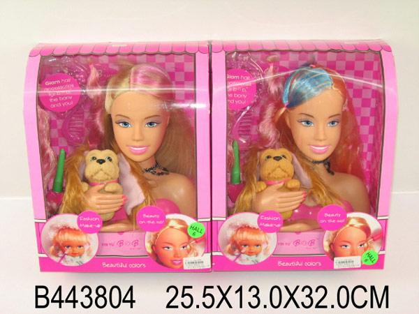 Где купить куклу голову для причесок