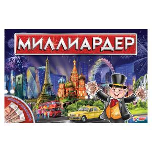 Настольная экономическая игра Миллиардер в русс. кор. Умные игры в кор.20шт