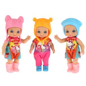 "Кукла ""Карапуз"" Hello Kitty 12см, без звука, в ассорт. в пак. (русс. уп.) в кор.120шт"