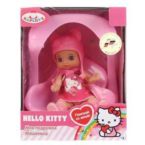 """Кукла """"Карапуз"""" Hello Kitty 12см без звука, с качелькой и аксесс., в ассорт. в русс. кор. в кор.40шт"""