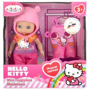 "Кукла ""Карапуз"" Hello Kitty 12см, без звука, с доп. одеждой и аксесс., в ассорт. в кор. в кор.60шт"