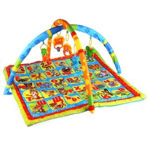 Детский игровой коврик азбука животных с игрушками на подвеске в пакете Умка в кор.2*6шт