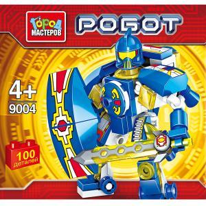 """Игрушка конструктор """"город мастеров""""  робот, 100 дет., цвет в ассорт. в банке в кор.144шт."""