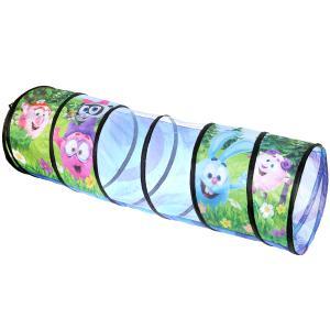 Тоннель детский игровой Смешарики 182,5х78,5см в сумке Играем вместе в кор.12шт