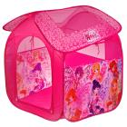 Палатка детская игровая Winx 83х80х105см, в сумке, Играем вместе в кор.24шт