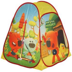 Палатка детская игровая МИМИМИШКИ 81х90х81см, в сумке Играем вместе в кор.24шт