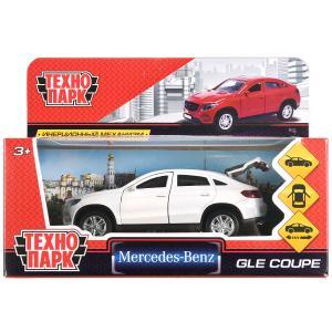 "ТМ Технопарк. Машина металл ""MERCEDES-BENZ GLE COUPE"" 12см, открыв. двери, инерц, БЕЛЫЙ в кор.2*36шт"