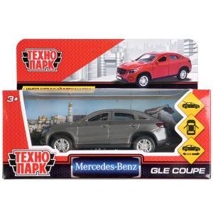 Машина металл MERCEDES-BENZ GLE COUPE длин 12 см, двери, багажн, серый, кор. Технопарк в кор.2*36шт