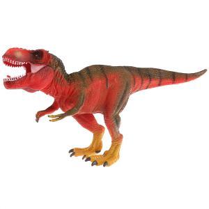 Игрушка пластизоль Играем вместе динозавр Тираннозавp 27*9*13см, хэнтэг в пак. в кор.2*36шт
