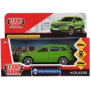 Машина металл RENAULT KOLEOS,длина 12см, открыв. двери, инерц, зеленый в кор. Технопарк в кор.2*36шт