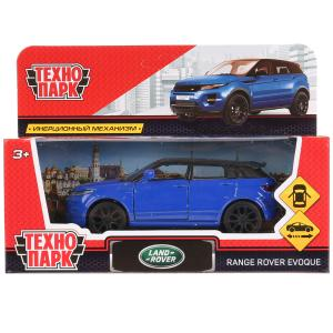 Машина металл LAND ROVER RANGE ROVER EVOQUE 12,5см,открыв. двери,инерц, синий Технопарк в кор.2*36шт