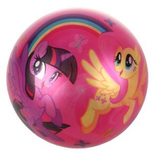 """Мяч ПВХ 23см """"Играем вместе"""" """"Hasbro. Мой маленький пони"""", полноцвет, с блеском в сетке в кор.144шт"""