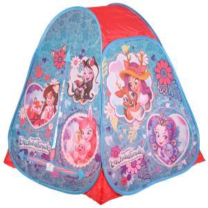 Палатка детская игровая ENCHANTIMALS 81х90х81см, в сумке Играем вместе в кор.24шт