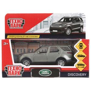 Машина металл LAND ROVER DISCOVERY 12см, открыв. двери, инерц, серый, в кор. Технопарк в кор.2*36шт