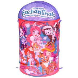 """Корзина для игрушек Enchantimals 43*60см в пак. """"Играем вместе"""" в кор.24шт"""