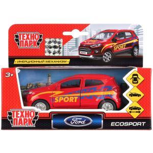Машина металл FORD Ecosport спорт 12см, открыв. двери, инерц. в кор. Технопарк в кор.2*24шт