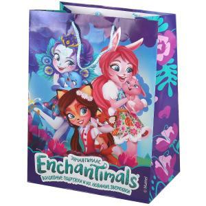 Играем Вместе. Enchantimals. Пакет подарочный 33х46х20см, глянцевый в пак. уп-12шт в кор.6уп