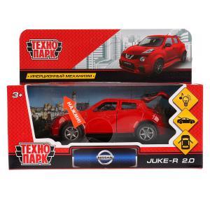 Машина металл свет-звук NISSAN JUKE-R 2.0 12 см, двери, багаж, красный, кор. Технопарк в кор.2*36шт