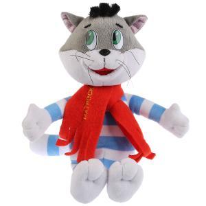 Игрушка мягкая Союзмультфильм кот матроскин, 18см, муз. чип, в пак. Мульти-пульти в кор.24шт