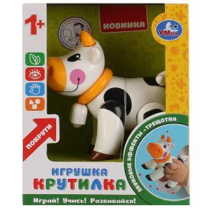 Развивающая крутилка корова, белый цвет в русс. кор. Умка в кор.2*90шт