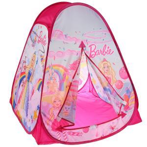 Палатка детская игровая Барби 81х90х81см, в сумке Играем вместе в кор.24шт