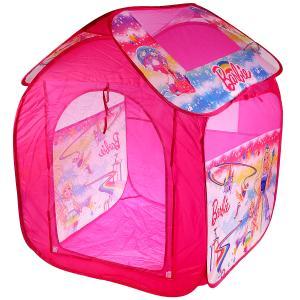 Палатка детская игровая Барби 83х80х105см, в сумке Играем вместе в кор.24шт