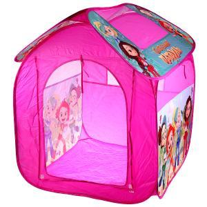 Палатка детская игровая Сказочный патруль 83х80х105см, в сумке Играем вместе в кор.24шт
