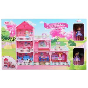 Дом для кукол, с фигурками и аксесс. VC6016 в кор. в кор.6шт