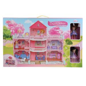 Дом для кукол, с фигурками и аксесс. VC6017 в кор. в кор.6шт