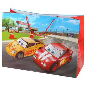 Играем Вместе. Машинки. Пакет подарочный, 46х61х20см, бумажный, глянцевый в пак. уп-12шт в кор.6уп