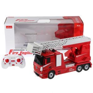 Машина р/у Mercedes-benz пожарная охрана 1:24, свет+звук, подвиж. элементы в кор. Rastar в кор.4шт