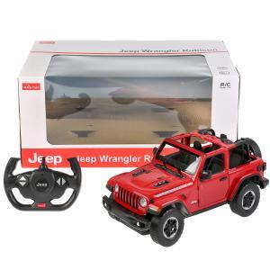 Машина р/у jeep wrangler jl 1:14, двери открываются вручную, цвет в ассорт. в кор. Rastar в кор.6шт
