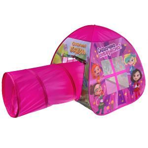 Палатка детская игровая Сказочный патруль с тоннелем, 81x95x95,46x100см, Играем вместе в кор.10шт