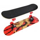 Скейтборд monster 60*15см, пвх колеса в кор.12шт