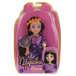 Кукла без озвуч Царевны Соня 15 см, в блистере КАРАПУЗ в кор.72шт