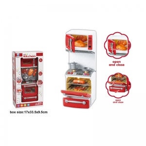 Кухня для кукол, на бат. свет+звук, с аксесс. 66081 в кор. в кор.2*24шт