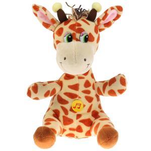 Игрушка мягкая Стихи А. Барто жирафик, 22см, муз. чип, в пак. Мульти-пульти в кор.24шт