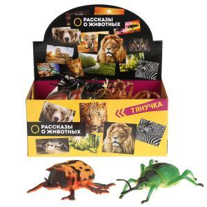 Игрушки пластизоль Играем вместе насекомые 10-22см 12 ассорти в дисплее уп-12шт в кор.12уп
