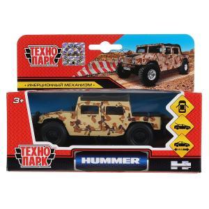 Машина металл Hummer H1 пикап военный 12см, открыв. двери, инерц. в кор. Технопарк в кор.2*24шт