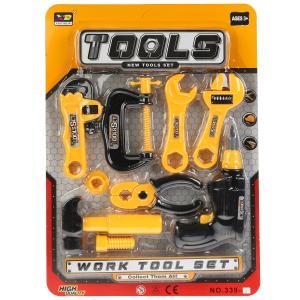 Набор строит. инструментов 339-1 на карт. в кор.2*45шт