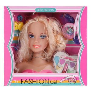 Кукла-манекен для создания причесок, с аксесс., в ассорт. 233-5 в кор. в кор.18шт