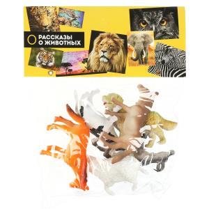 Игрушка пластизоль домашние животные 10 см 6шт/пакет ИГРАЕМ ВМЕСТЕ в кор.2*60шт
