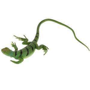 Игрушка пластизоль Играем Вместе Сцинк (семейство ящериц) 31см, 1шт, хентег в пак. в кор.2*144шт