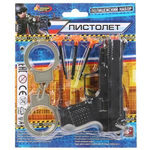 Набор оружия полиция на блистере 21,5*19*2см ИГРАЕМ ВМЕСТЕ в кор.2*120шт