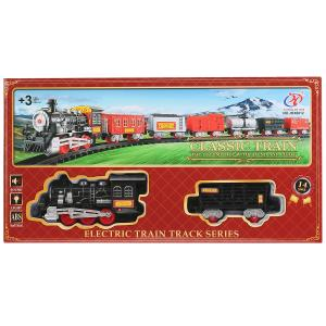 Железная дорога на бат. со светом, длина полотна 70см JHX6612 в кор. в кор.2*24шт