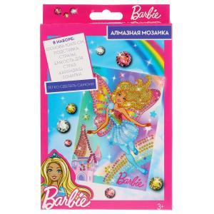 Набор д/тв-ва MultiArt Алмазная мозаика Barbie  10*15см в русс. кор. в кор.50шт