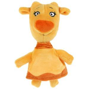 Игрушка мягкая Оранжевая корова зо, 18 см, без чипа, в пак. Мульти-пульти в кор.24шт