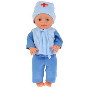 """Одежда для кукол 40-42см комплект """"доктор"""" в пак. """"Карапуз"""" в кор.100шт"""