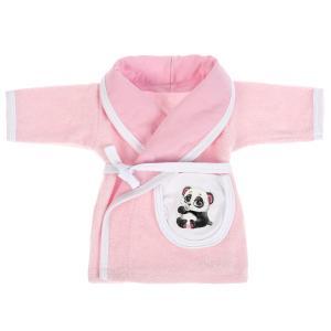 """Одежда для кукол 40-42см халат """"панда"""" в пак. """"Карапуз"""" в кор.100шт"""